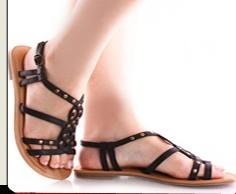 Women's Fashion Leather Sandals