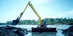 Amphibious Hydraulic Excavator