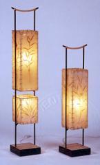 Dwarf bamboo floor lamp