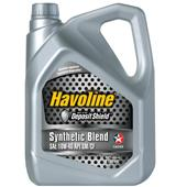 Havoline Synthetic Blend oil