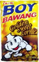 Boy Bawang Corn Snack Sweet flavor