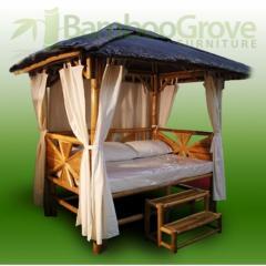 Gazebo Nipa Love Hut