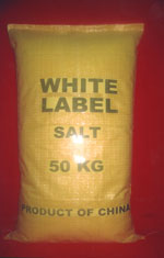 White Label table salt