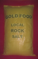 Gold Food salt