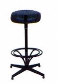 Barstool Upholstered Backrest