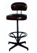 Barstool Upholstered Arms
