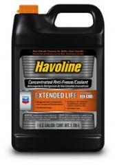 Havoline Extended Life Anti-Freeze/Coolant
