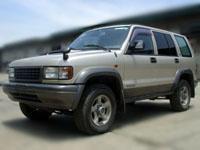 Isuzu Bighorn 4x4 car