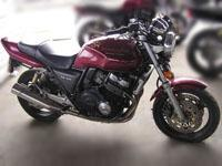Honda CB400 Super Four motorcycle
