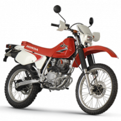 XR 200 motorcycle