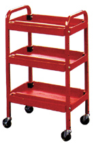 Service Tool and Parts Cart 3 Trays