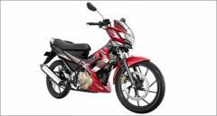 Suzuki Raider 150 motorcycle