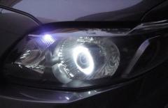 Projector headlamp + smoke headlamp convertion