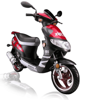 Zip r3i Turbocam motorcycle