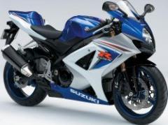 Suzuki GSX-R1000 motorcycle
