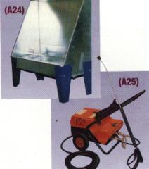 KPX High Pressure Screen Cleaning Unit