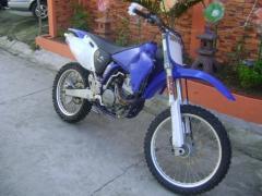 Yamaha YZ 450F 2003 motorcycle