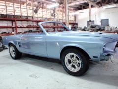 1968 Tribute Convertible Mustang car