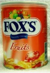 Fox's Crystal Clear Fruits Flavored Candy