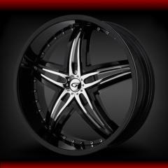 Gianna Blitz BLK wheels