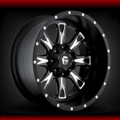 Fuel Off Road Throttle Black wheels