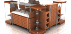 Customized Modular  Podium  Kiosk