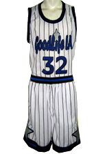 Goodlife La.  Custom Basketball Uniforms