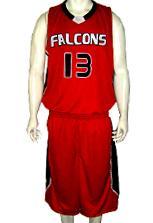 Falcons  Custom Basketball Uniforms