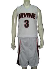 IRVINE  Form Fit Custom Basketball Uniform