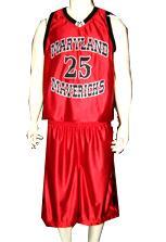 Maryland Mavericks Custom Basketball Uniforms
