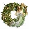 Holy Family Christmas Wreaths