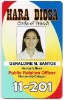 Fade Resistant ID card 4