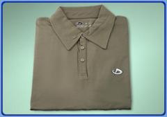 Plain Polo Shirt with Collar