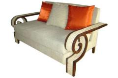 Wenge Finish Sofa
