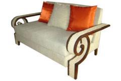 Wenge Finish Sofa