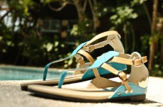 Women's Leather Sandals JOANNA