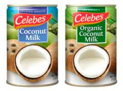 Organic Coconut Milk - Canned, Aseptic, or Frozen