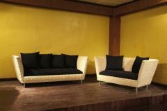 Philippine Mahogany Wood Sofa