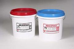 Megapoxy PM epoxy filling paste and adhesive