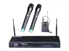 Bardl USF128H Wireless Microphone 9V