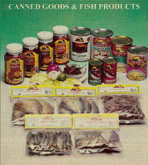 Canned Goods & Fish Products