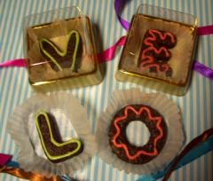 Brownie Letters kit