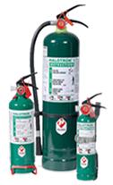Halotron I extinguishers