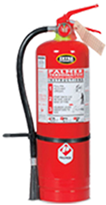 Palmer Terminator extinguishers