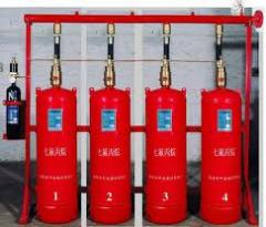 High Pressure CO2 Fire Suppression System