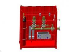 Sprinkler, Foam and Mist Fire Suppression System