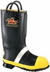 Thorogood Hellfire Insulated Rubber Bunker Boot