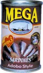 Sardines Mega Variants