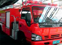 Isuzu NQR Ziegler Forcer Fire TruckFire
