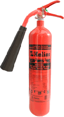 CO2 5.0 lbs extinguisher